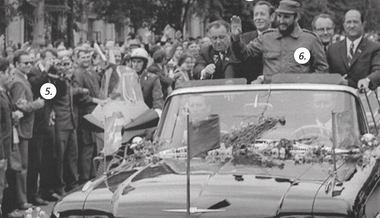 Как Фидель Кастро приезжал в Минск