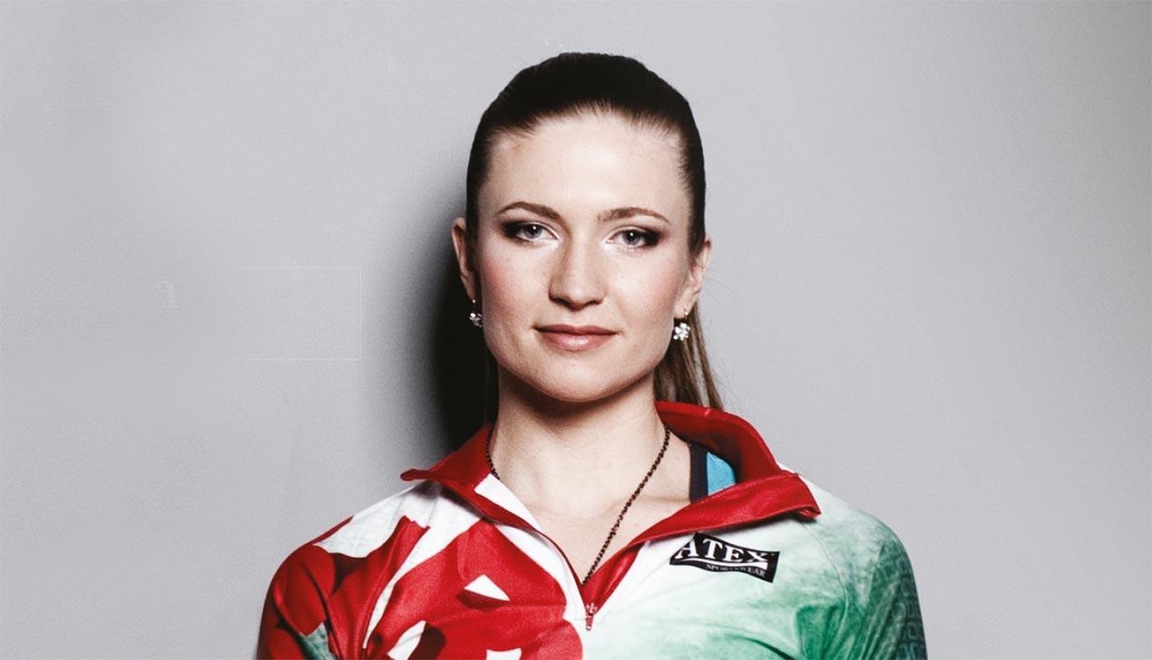 Биатлонистка Дарья Домрачева: «Родину не продаю»