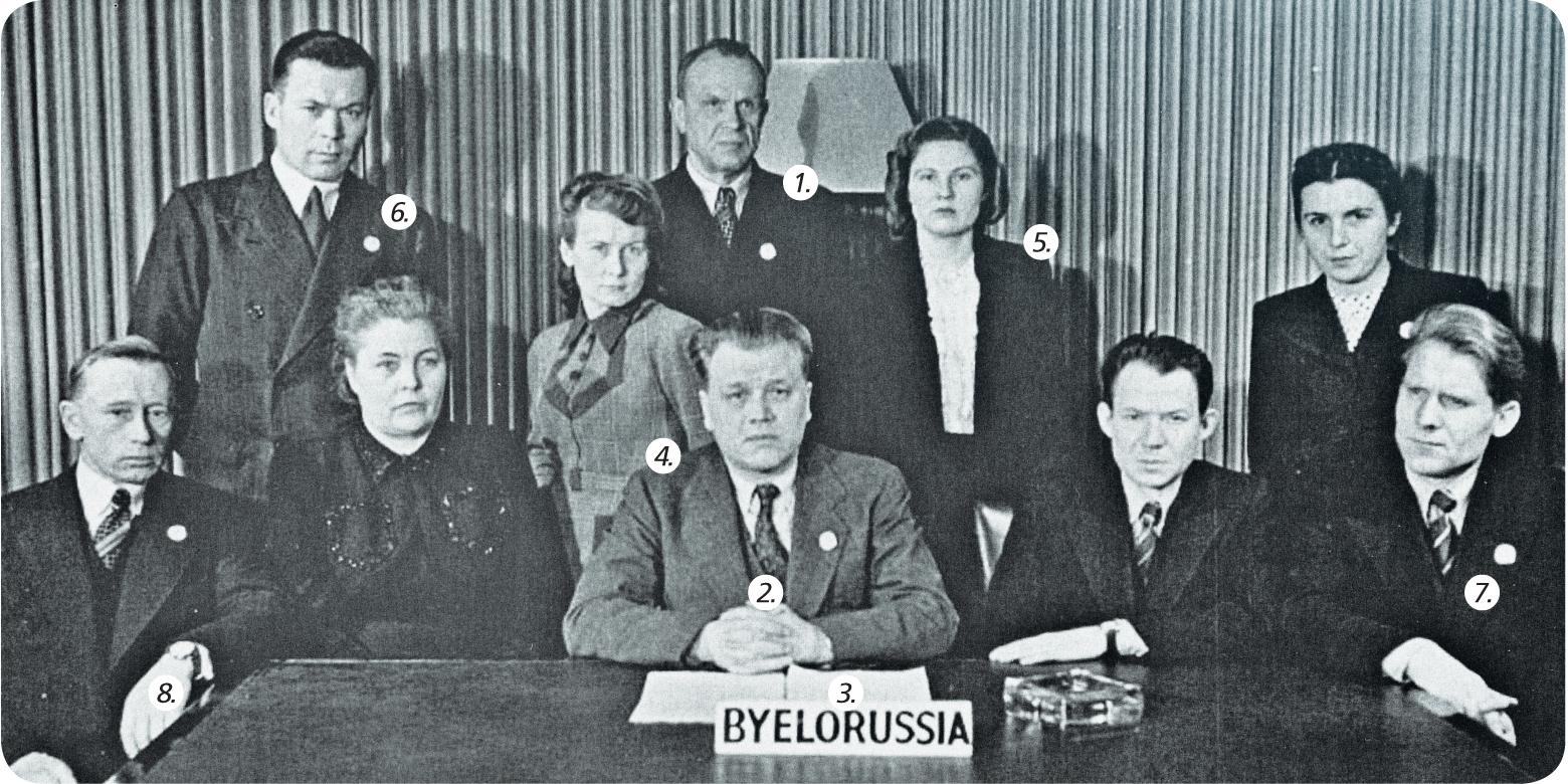 Белорусская делегация в ООН