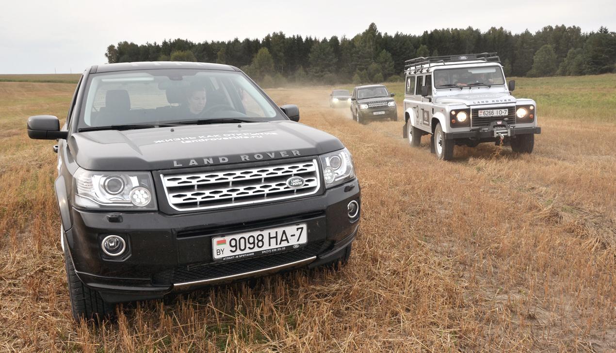 «Каго любіш? Люблю — Беларусь. То — узаемна!» Едем с Land Rover на запад