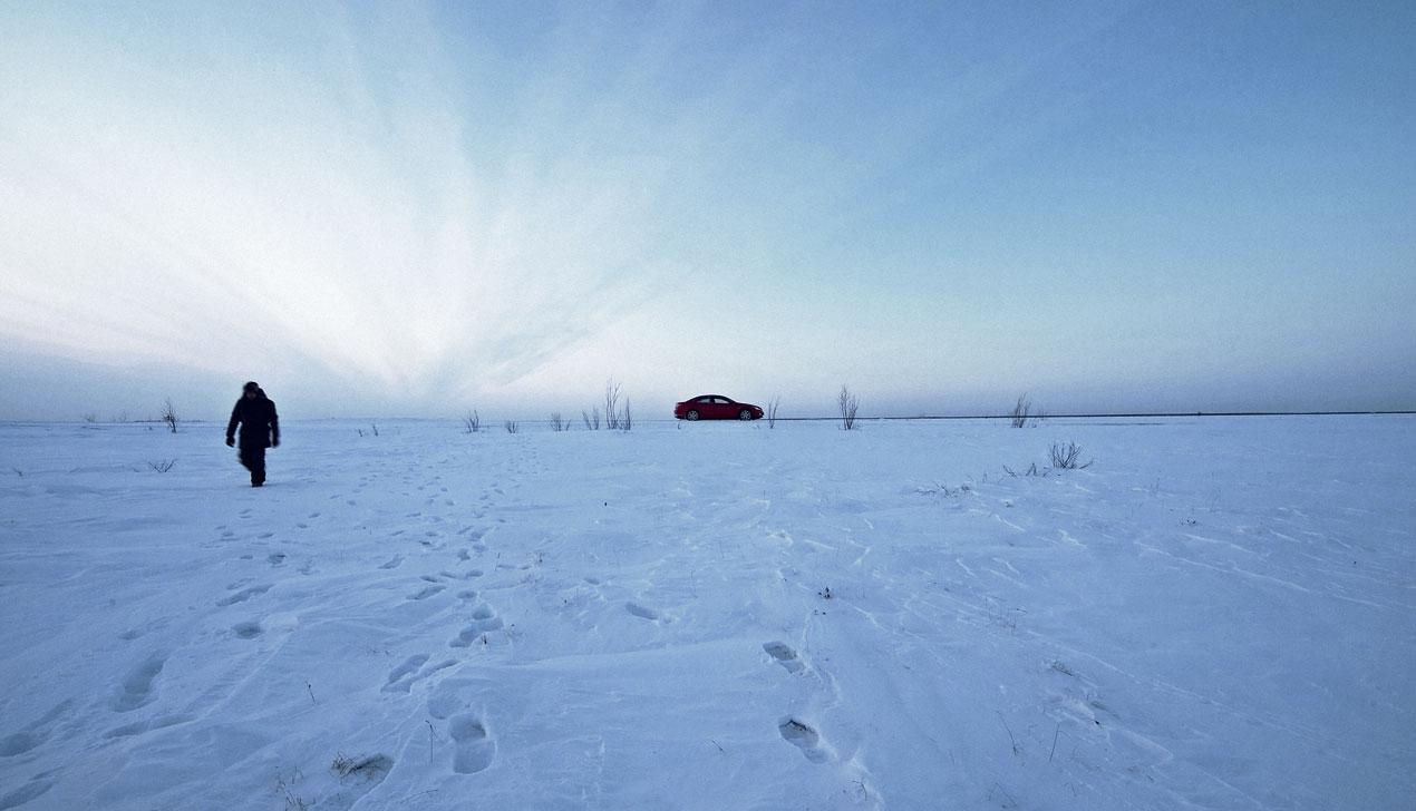 Город без счастливых людей. Команда «Большого» побывала в Новом Уренгое зимой