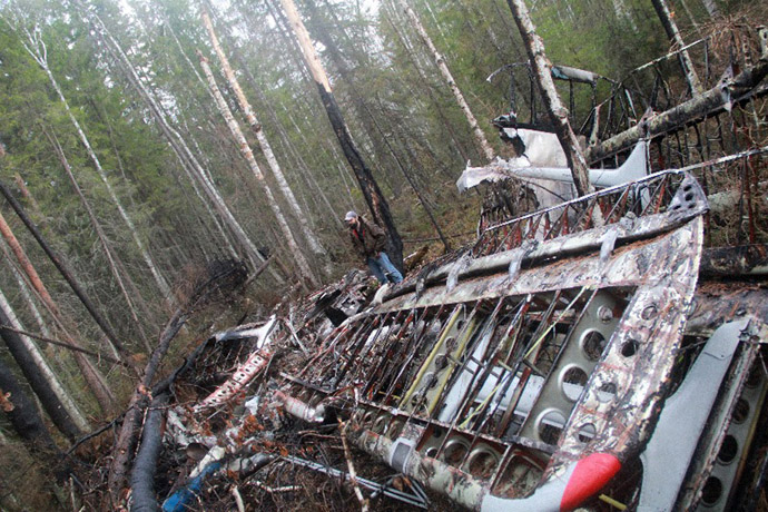 Wreckages of missing An-2 plane found in Sverdlovsk Region