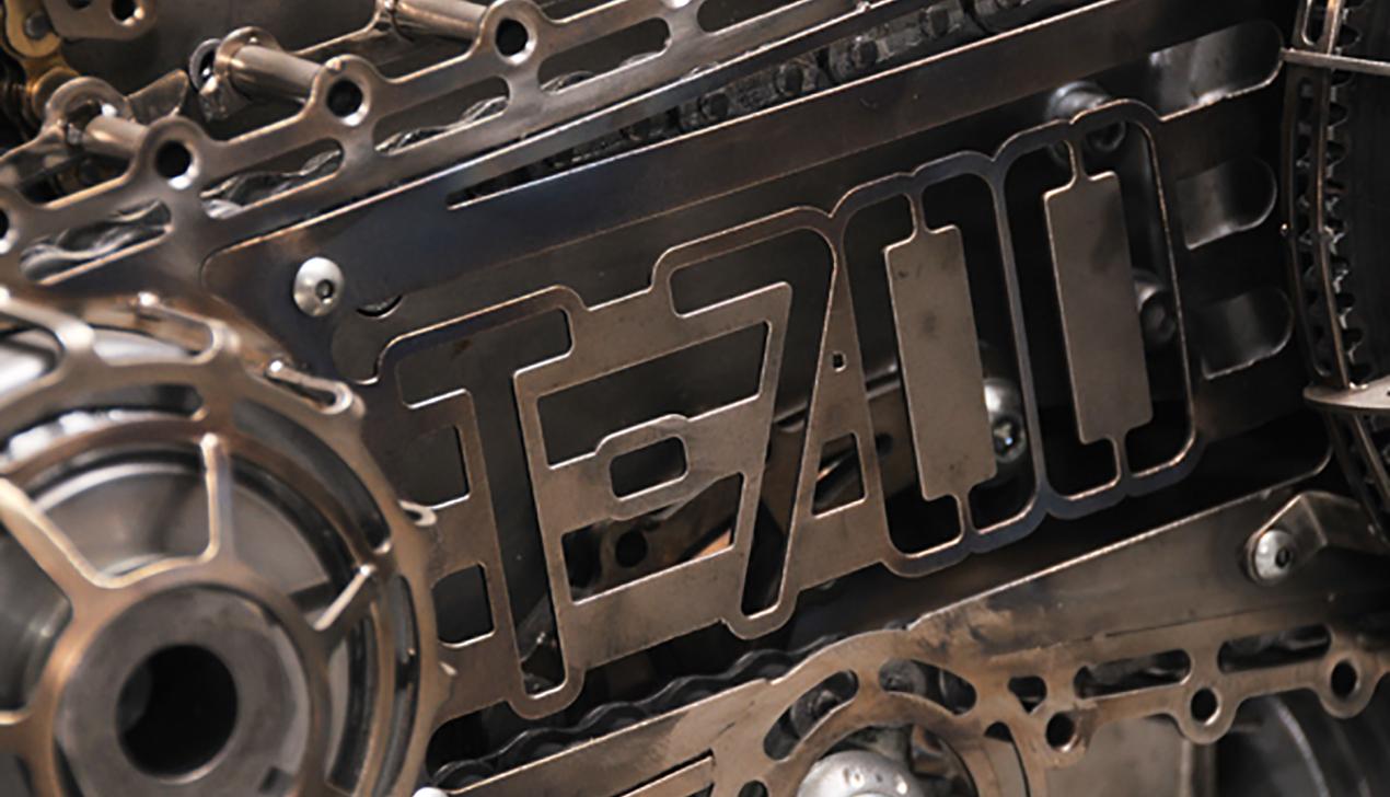 Белорусский кастомайзер Юрий Шиф создал мотоцикл-«Терминатор»