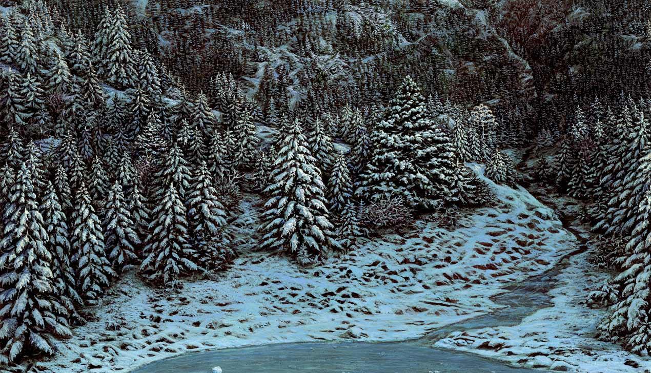Художник Александр Захаров: «Современная абстрактная живопись  рискует превратиться в обои»