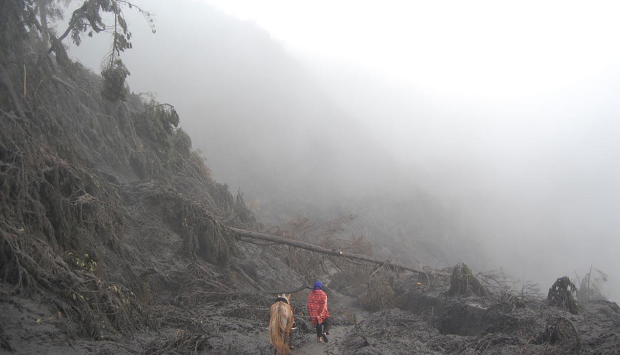 Бромовый дневник: Индонезия во время извержения вулкана