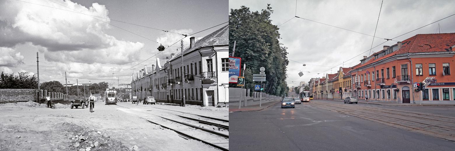 Минск. Улица Первомайская