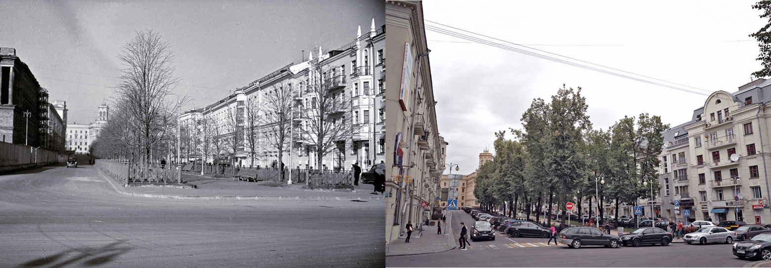 Минск. Улица Комсомольская