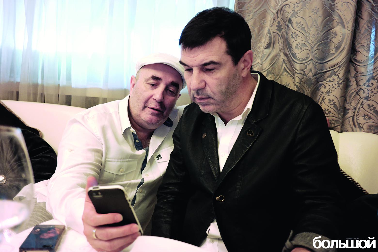 Евгений Гришковец и Виталий Новиков