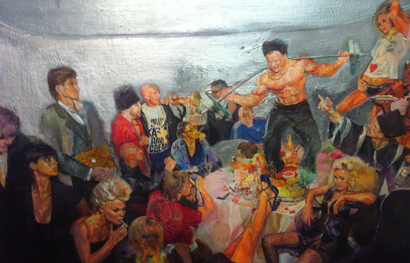 Купляйце беларускае: картина «Party» Родиона Стулинского
