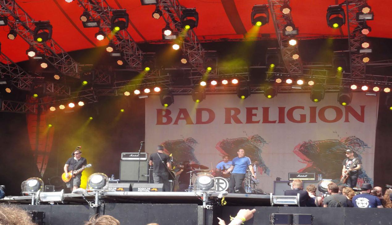 Татьяна Замировская об альбоме Bad Religion «The Dissent Of Man»