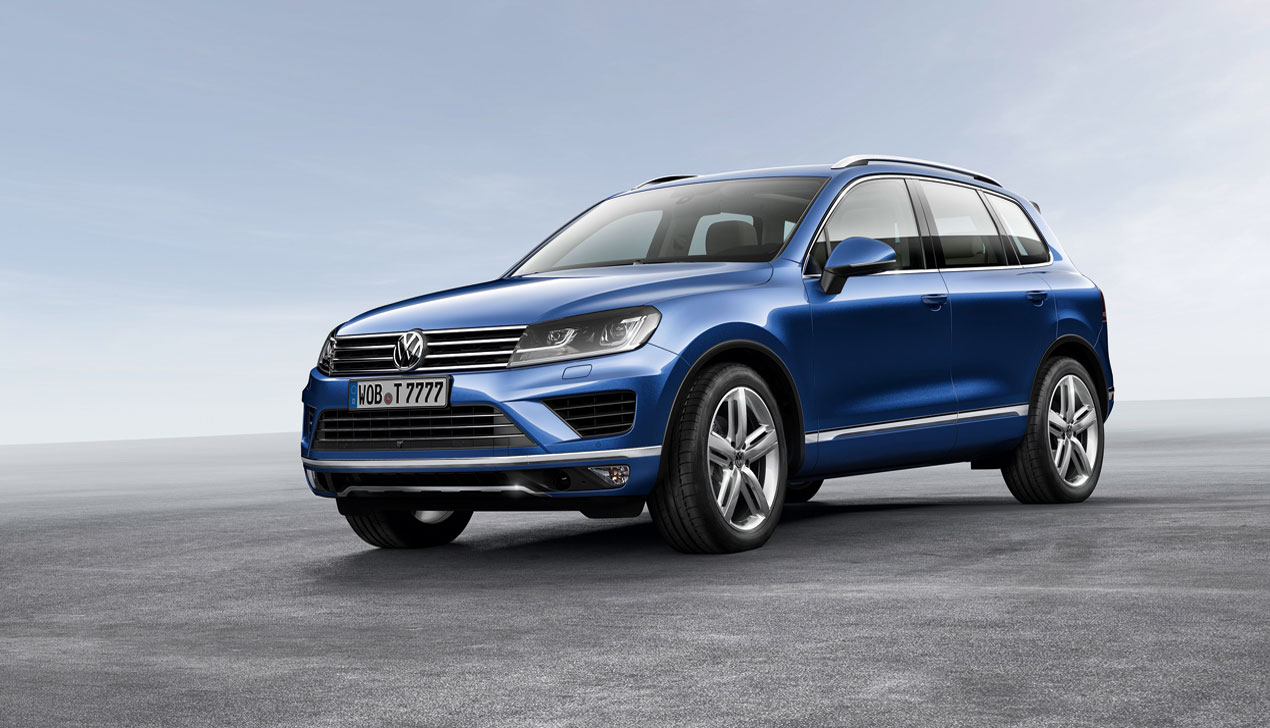 Новый Volkswagen Touareg готов ко всему