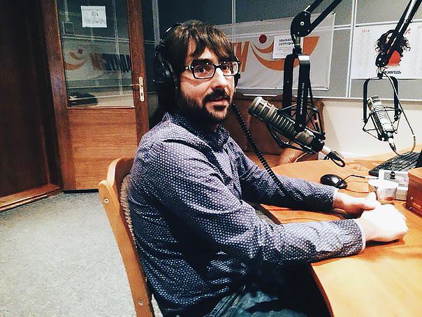 Дмитрий Новицкий на Радиус-FM