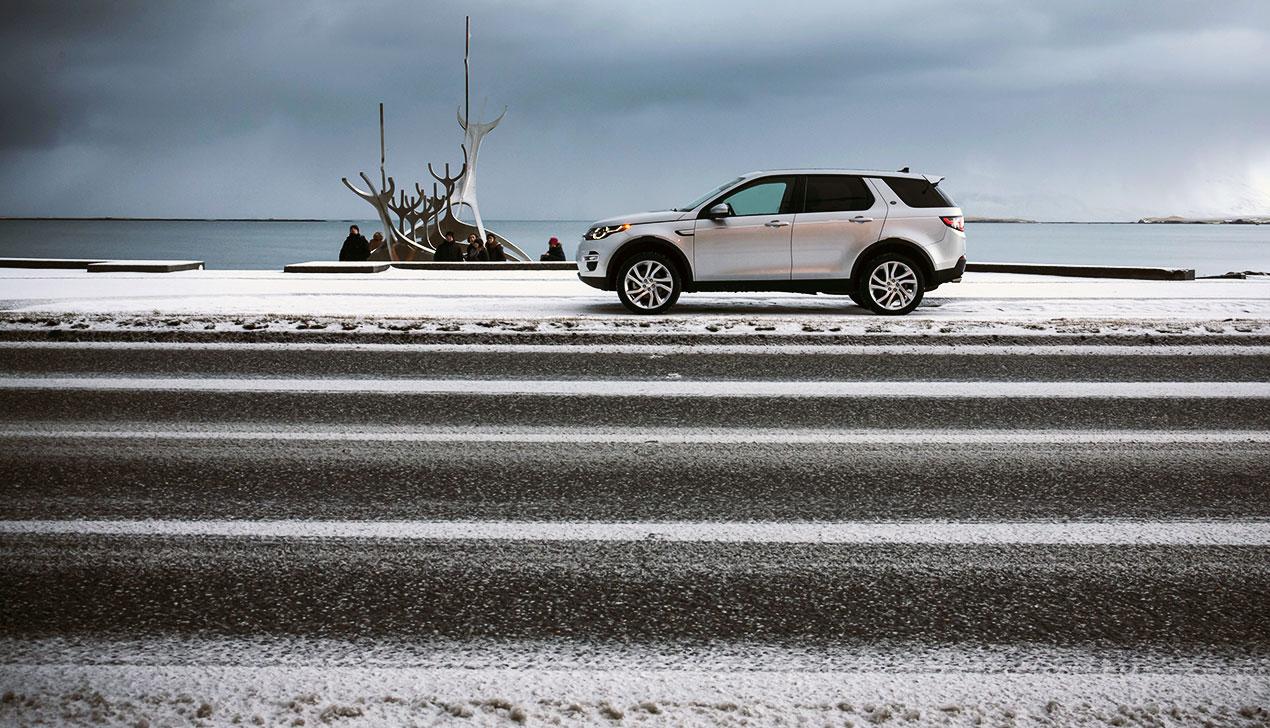 «…и лесбиянка». Дмитрий Новицкий побывал в Исландии на Land Rover Discovery Sport