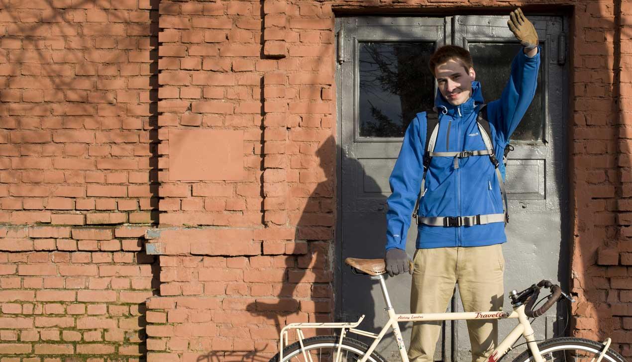 Белорус решился полтора года ездить по Азии на велосипеде AIST: «Опасений у меня нет»