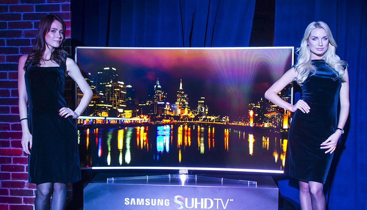 «Сверх-цвет и ультра-реалистичность». Представлены телевизоры Samsung SUHD с изогнутым экраном