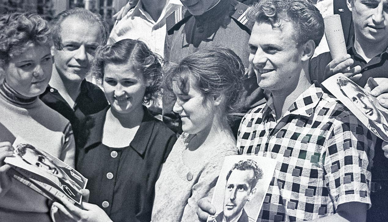 Космос близко: как в 1961 минчане встречали Гагарина и Титова
