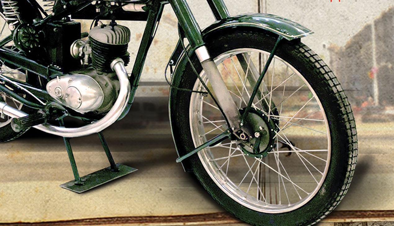 В Минске началась выставка ретромотоциклов