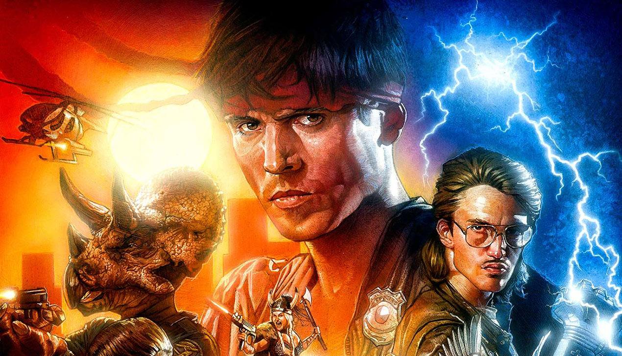 VHS + Гитлер + динозавры + викинги × любовь ²  = Kung Fury