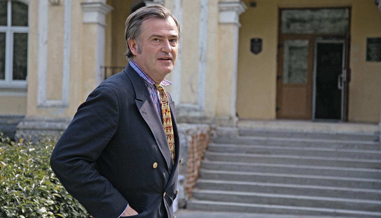 Правнук графа Чапского: «Если нужно, я готов помогать Минску»
