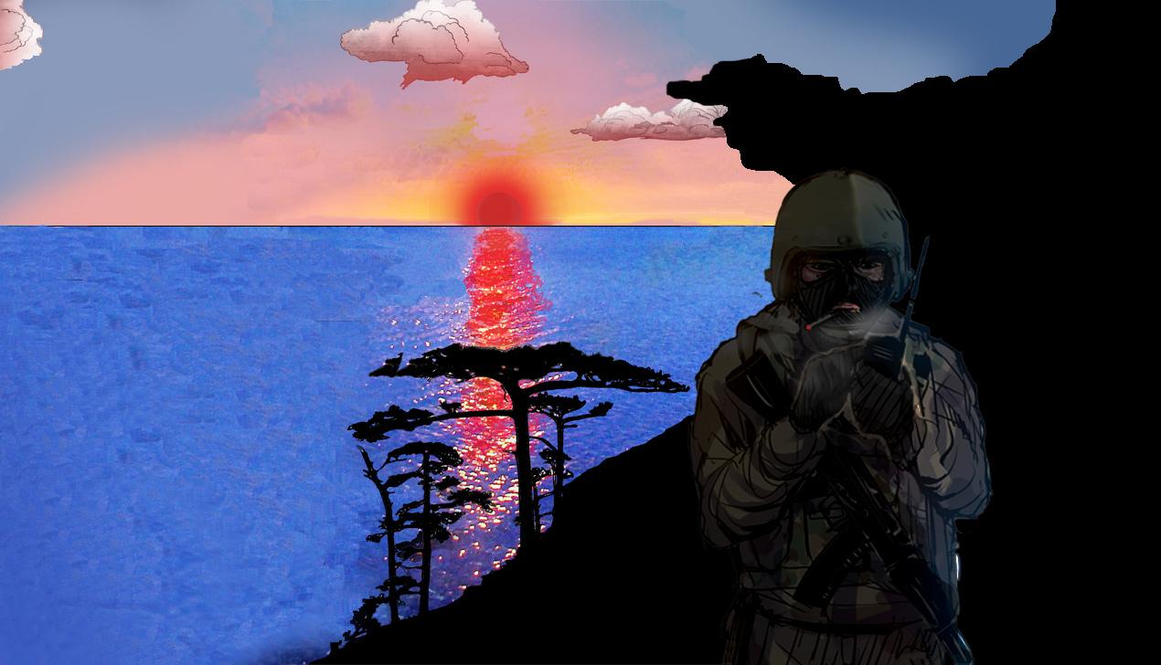 Крымские заметки Алисы Бизяевой. «Доченька, и я не хочу войны…»