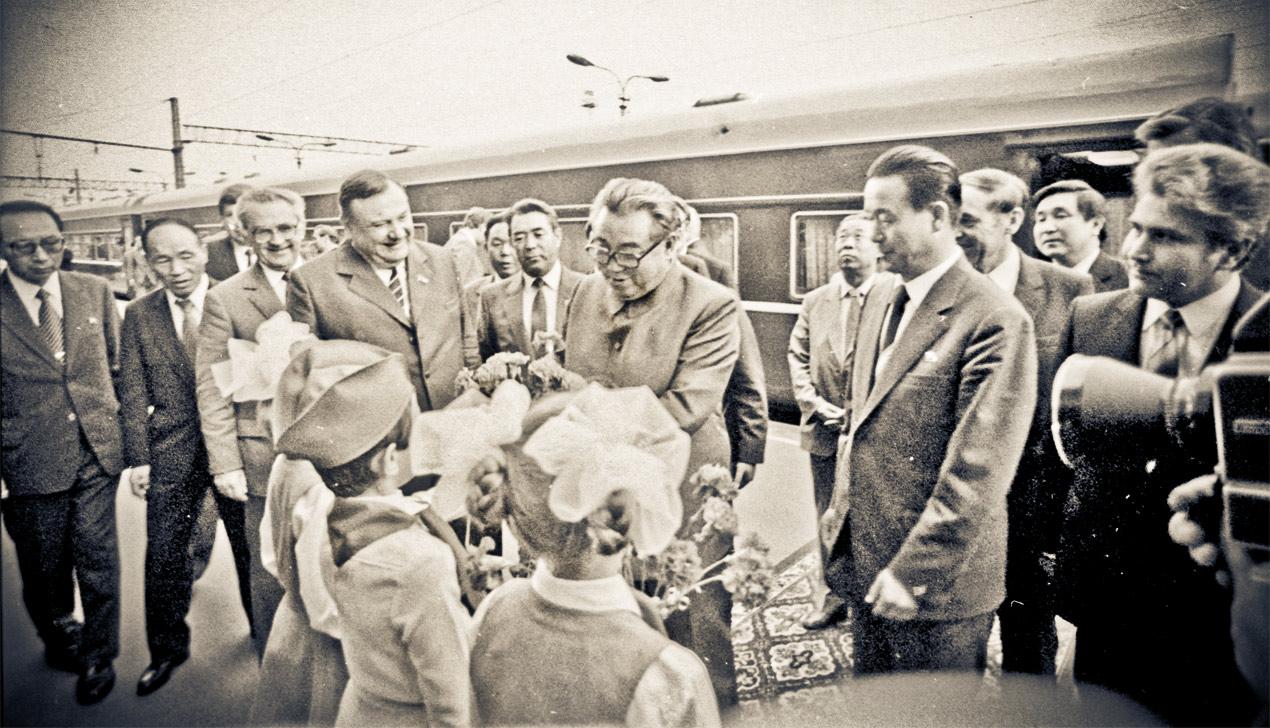 Восходящее солнце. Как президента КНДР Ким Ир Сена встречали в Минске