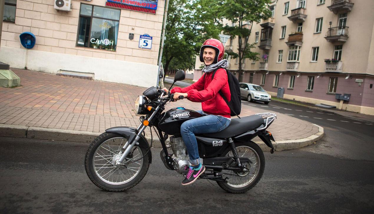 Девушка и мотоцикл: «Господи, дай мне сил пережить этот день»