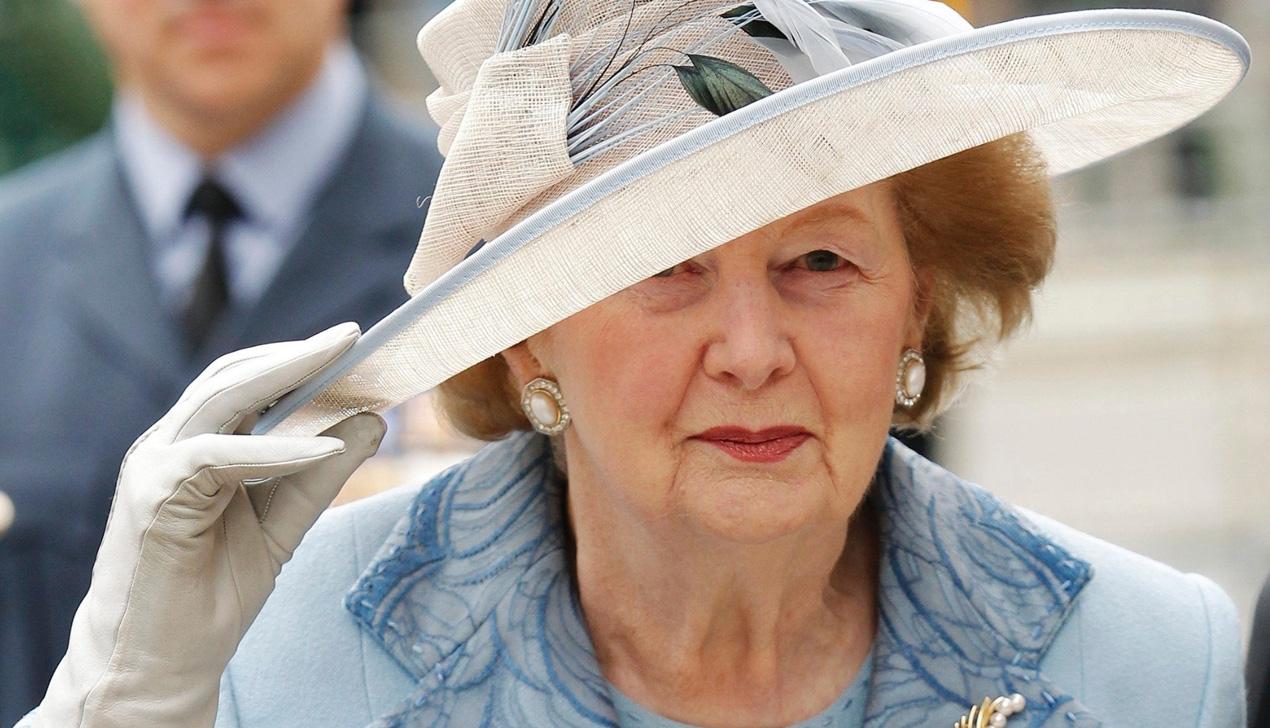В Лондоне умерла Маргарет Тэтчер