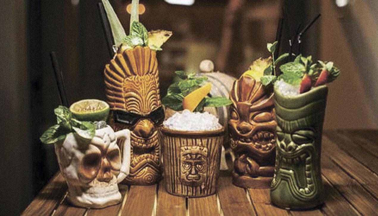 Тики-коктейли: история и рецепты