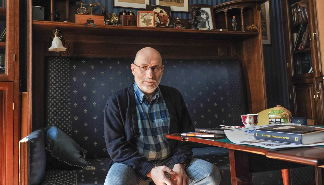 Писатель Борис Акунин: «Лучшие романы — мимо власти. Нечего стрелять из пушки по воробьям»