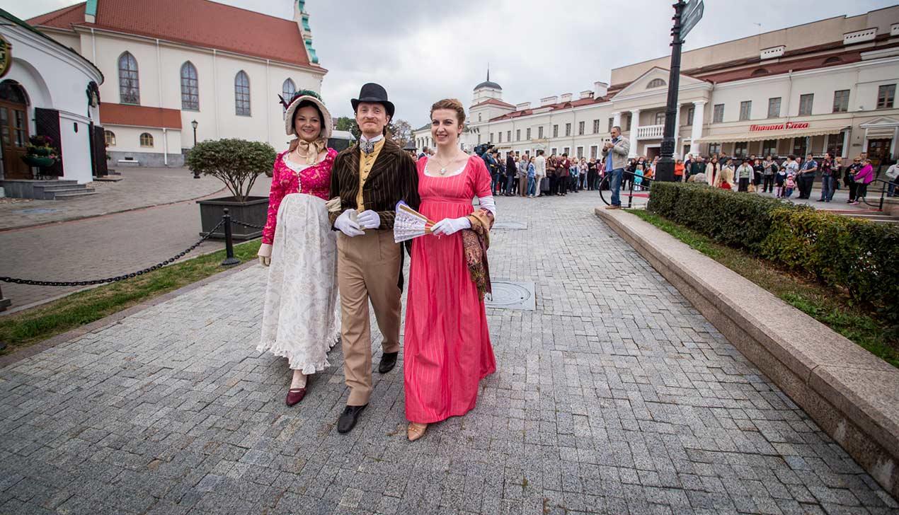 Как в Минске отметили 250-летие Михала Клеофаса Огинского
