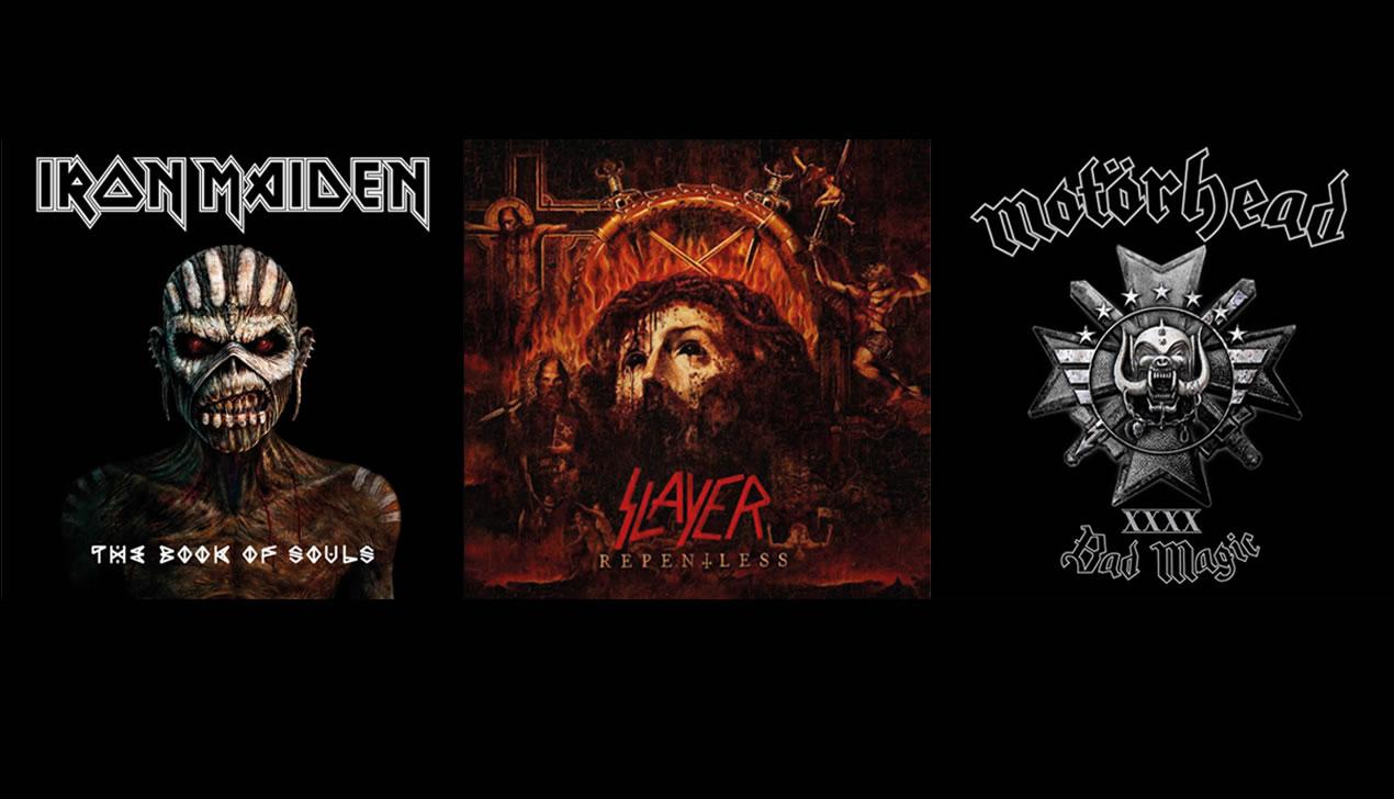CD-обзор с Татьяной Замировской: Iron Maiden, Slayer и Motörhead