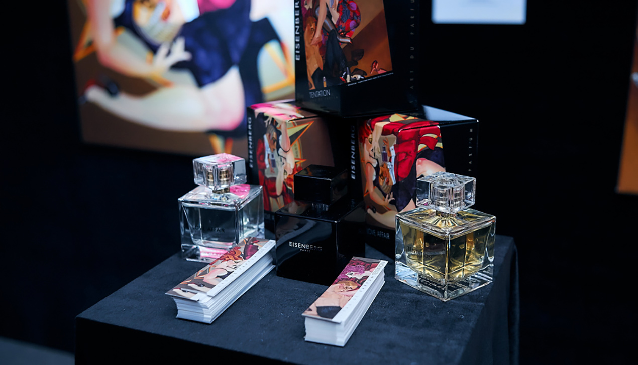 Разнюхали: в национальной библиотеке проходит выставка картин о парфюме Eisenberg