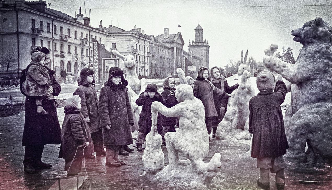 В лесу родилась ёлочка. Как отмечали Новый год советские дети
