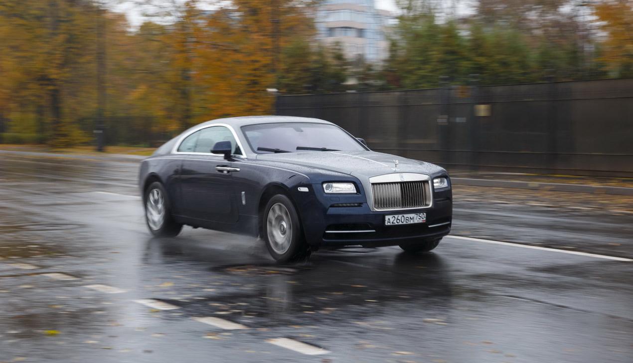 В доспехах Бога, или Тест-драйв Rolls-Royce