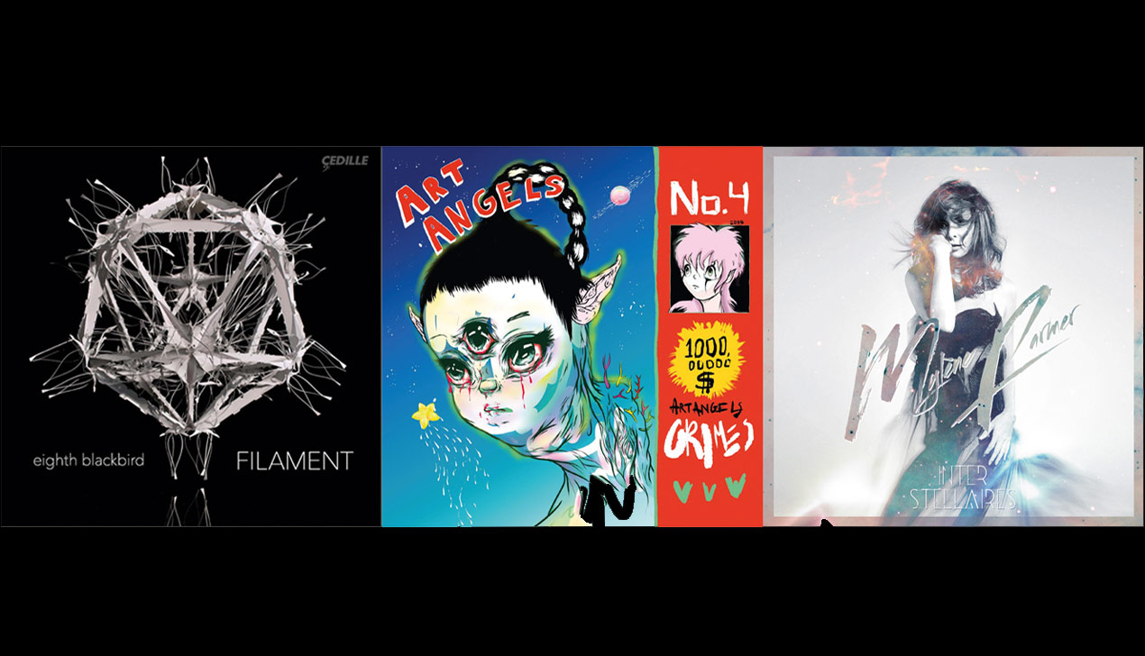 CD-обзор: Grimes, Eighth Blackbird, Mylène Farmer