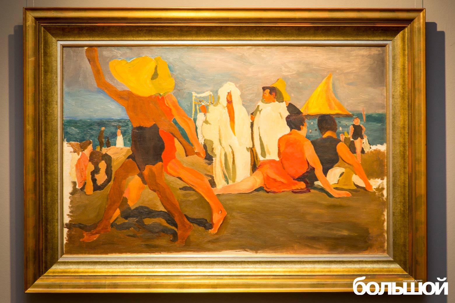 Купальщики-на-пляже-Лидо