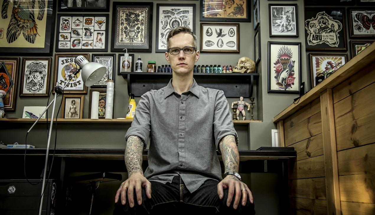 Тату-мастер Дэн Гилсдорф: «Если в конце жизни я пожалею только о сделанной татуировке, будет круто»