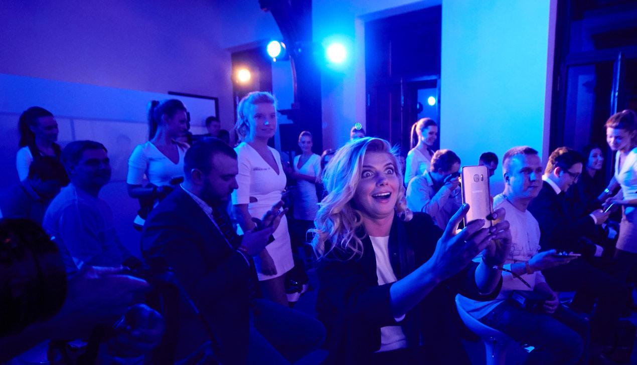 В Москве прошла закрытая презентация смартфона Samsung Galaxy S7/S7 Edge
