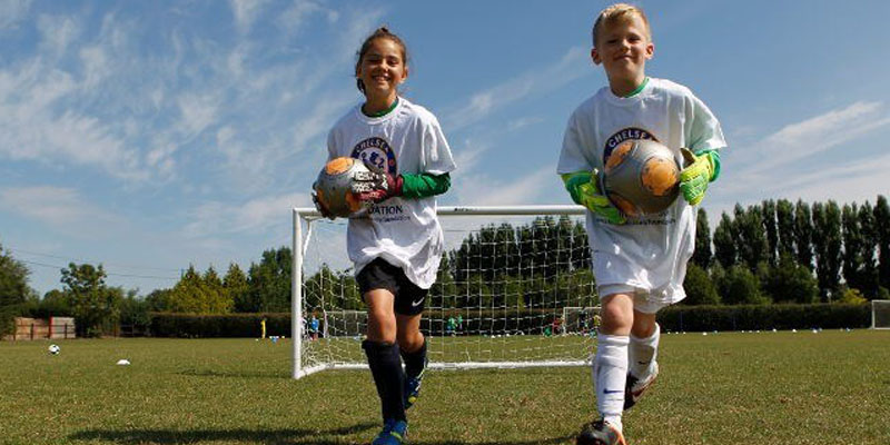 Soccer and English with Chelsea Foundation