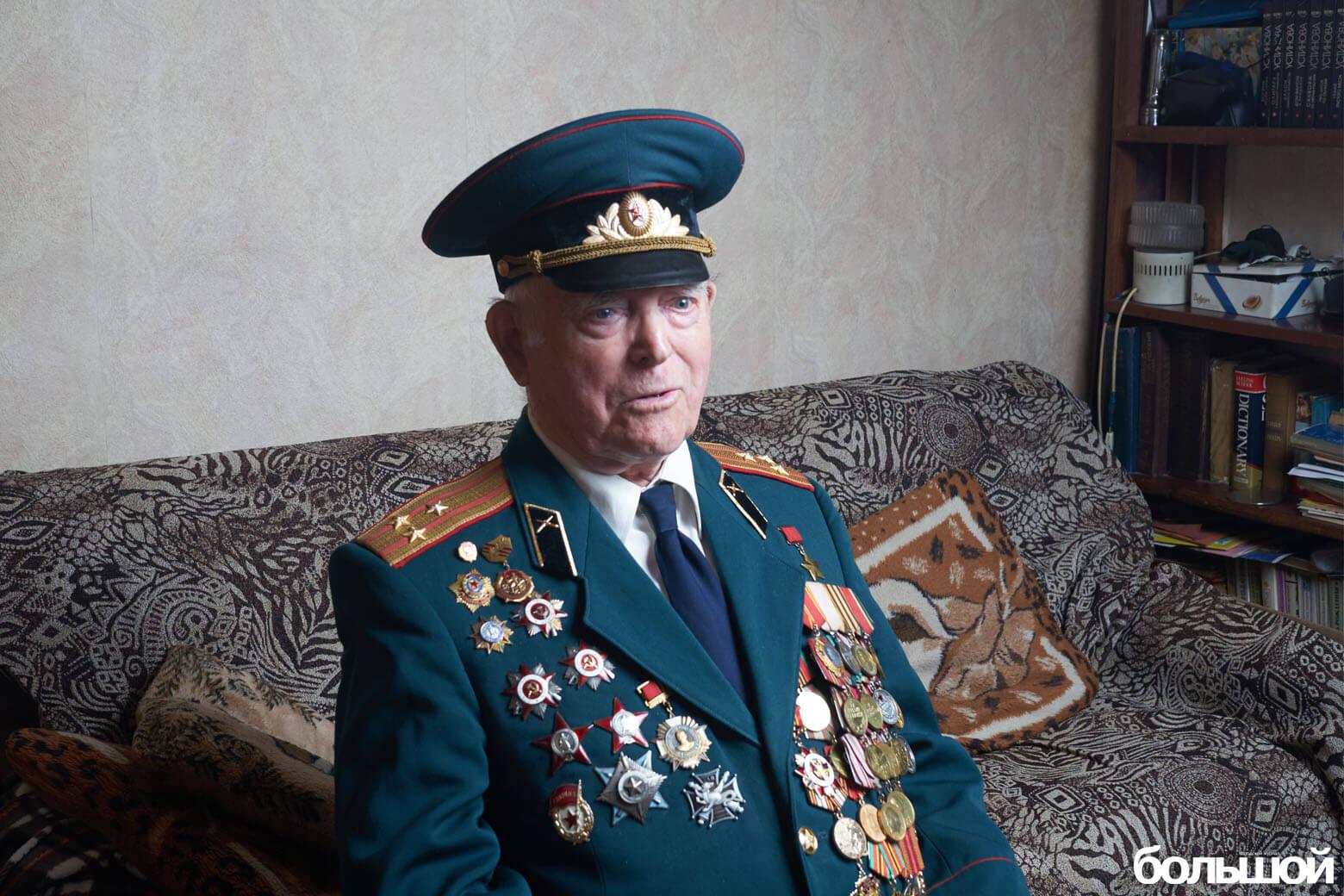 Герой Советского Союза Василий Мичурин
