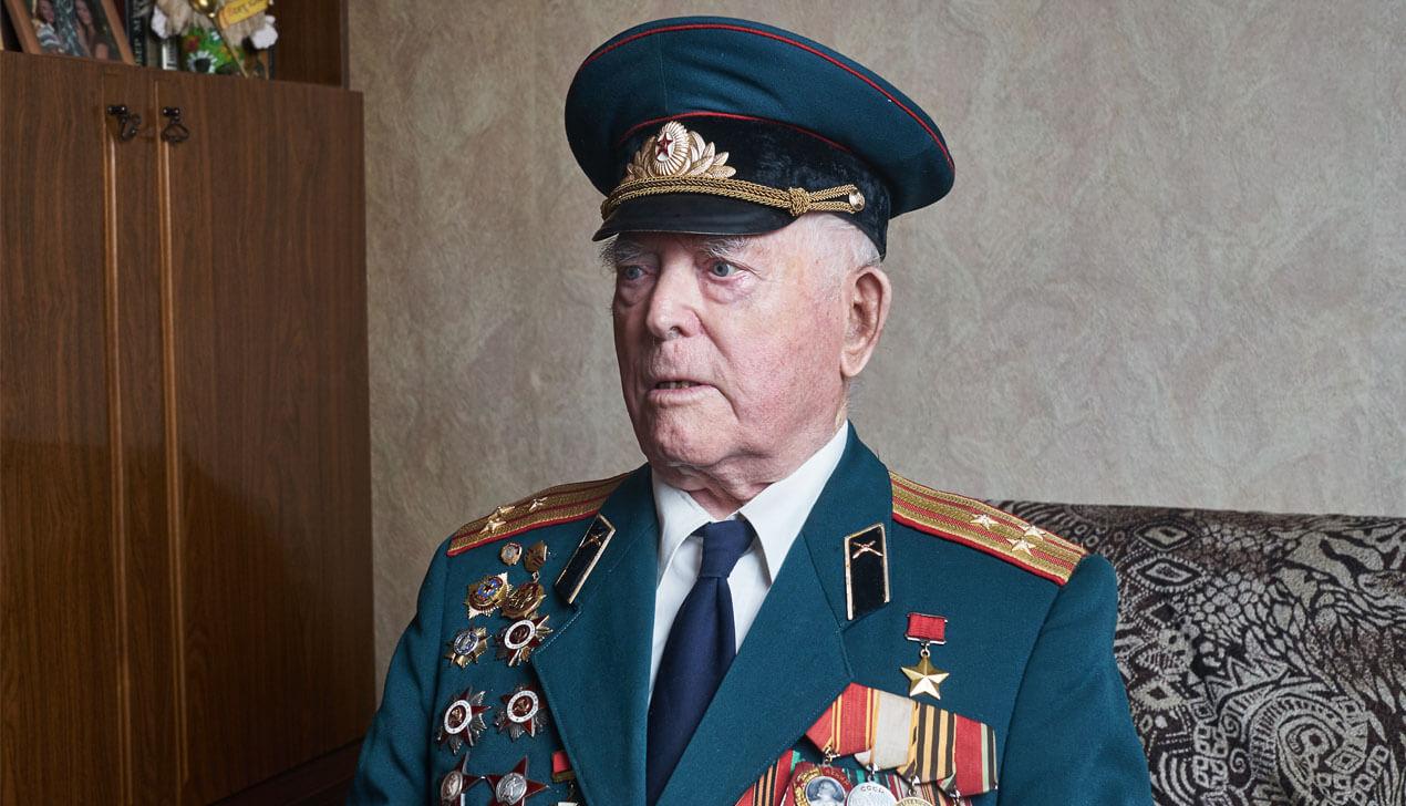 Герой Советского Союза Василий Мичурин: «Победу одерживает не армия, а народ»