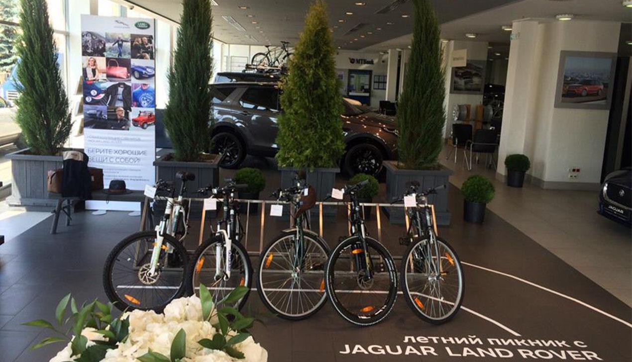 Jaguar Land Rover приглашает на летний пикник