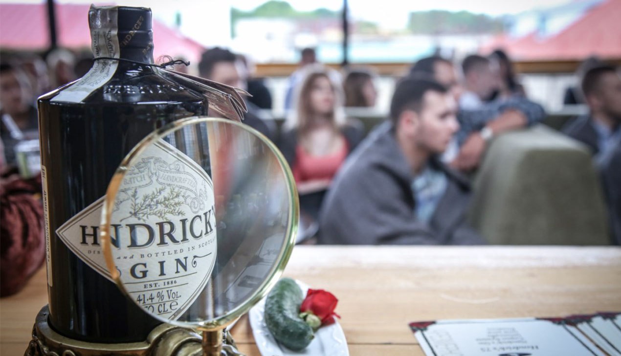 Как прошла вечеринка в стиле Hendrick's gin?