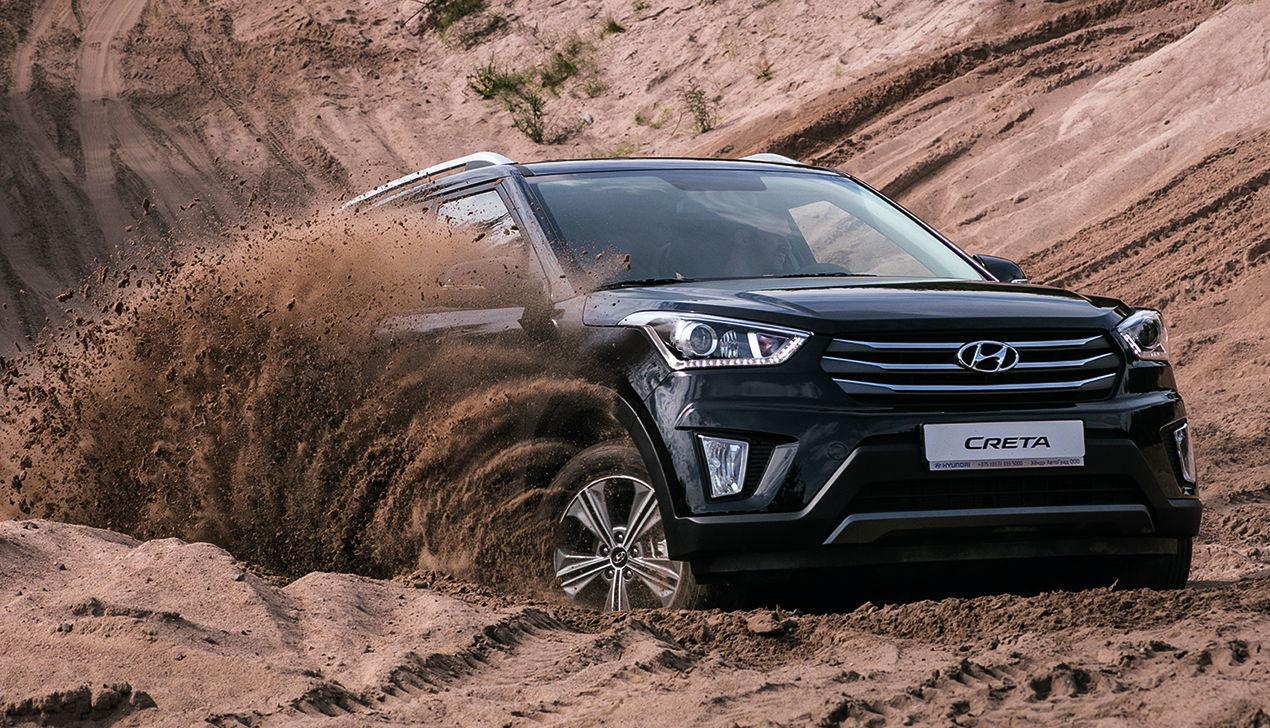 Креативным — Creta: тест-драйв нового кроссовера Hyundai