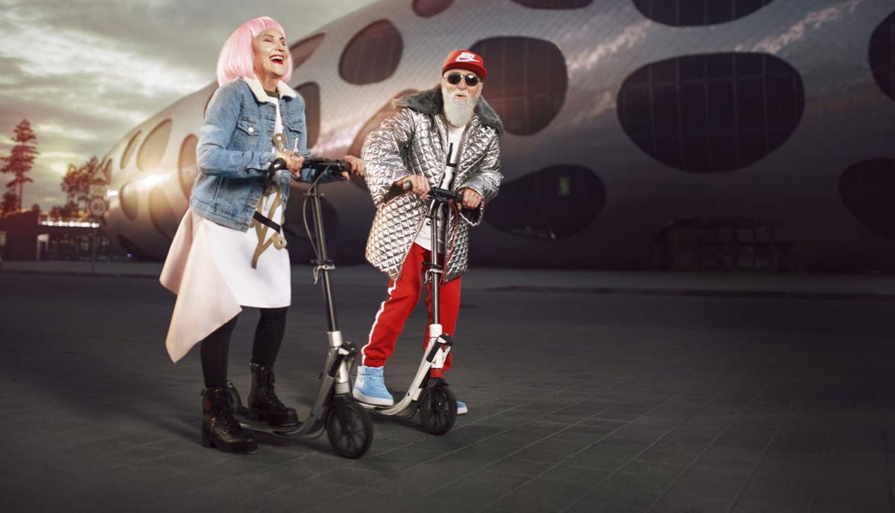 Фото с пожилыми моделями победило в конкурсе Golden Belarus