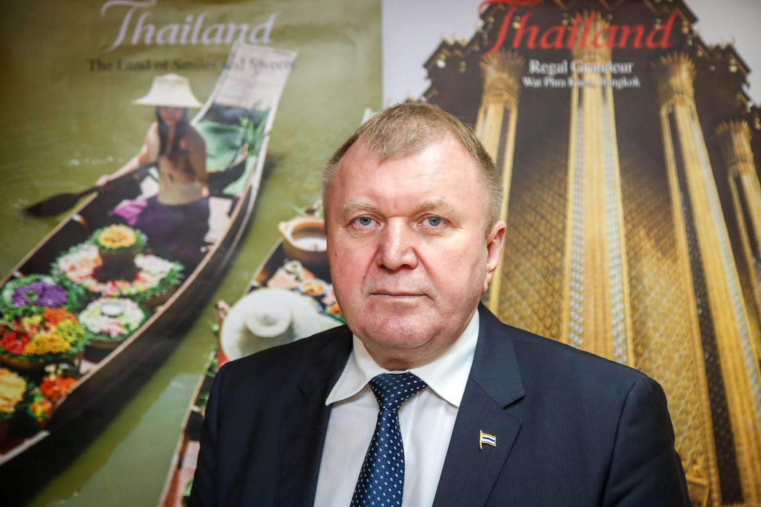 Почетный консул Таиланда в Беларуси Иван Чура
