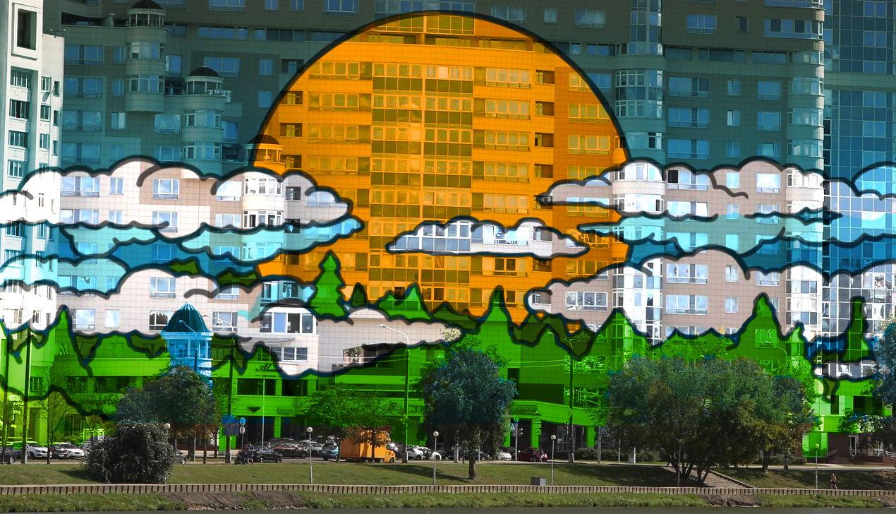 Vulica Minsk: как граффитисты разукрасили «дом Чижа», экс-«Кемпински» и ратушу