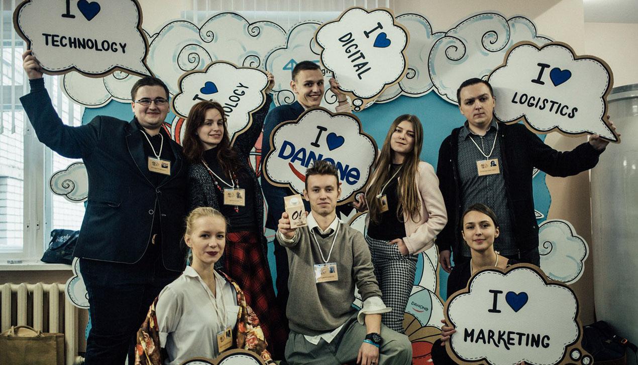 Компания Danone Беларусь вручила студентам 8500 евро