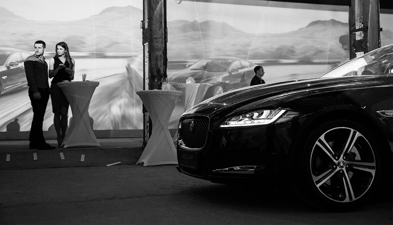 Высокое искусство: как в Минске презентовали Jaguar XJ и Jaguar XF