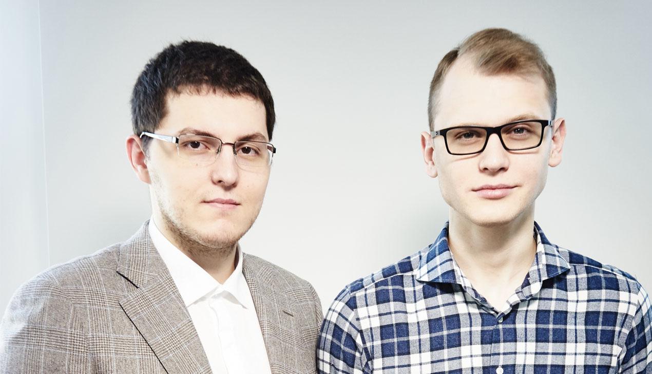 Разработчики приложения MSQRD Евгений Невгень и Сергей Гончар
